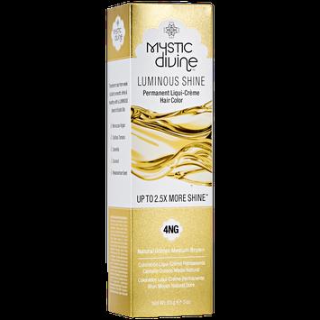 Mystic Divine 4NG Natural Golden Medium Brown Liqui-Creme Permanent Hair Color