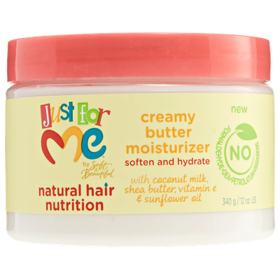 Soft & Beautiful Natural Hair Nutrition Creamy Butter Moisturizer