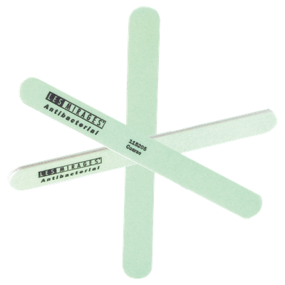 Les Mirages Antibacterial Coarse Green Nail File