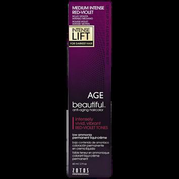 Agebeautiful Intense Lift Medium Intense Red Violet Permanent Liqui-Creme Hair Color