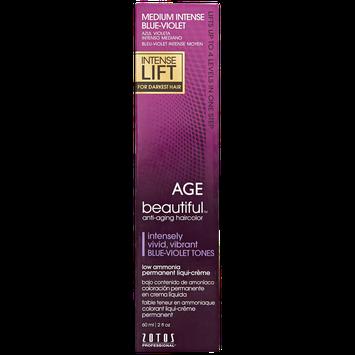 Agebeautiful Intense Lift Medium Intense Blue Violet Permanent Liqui-Creme Hair Color