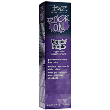 Beyond The Zone Rock On Poppin Purple Permanent Creme Hair Color