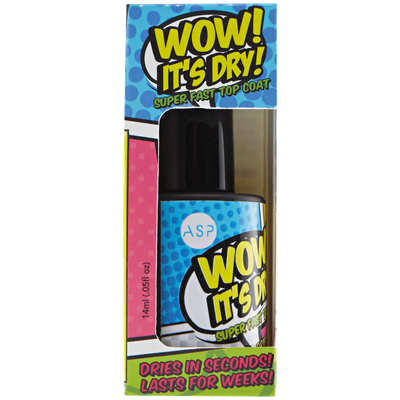 Asp WOW Its Dry Top Coat