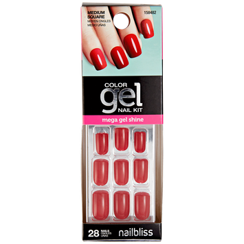 Nail Bliss Hot Tamale Press On Gel Nails