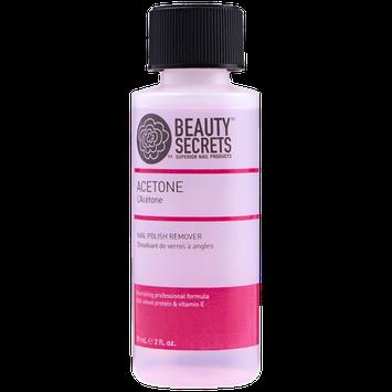Beauty Secrets Acetone Professional Nourishing Nail Polish Remover 2oz