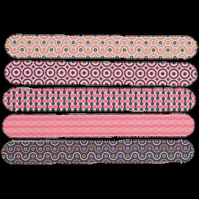 Beauty Secrets Retro Pattern Nail Files