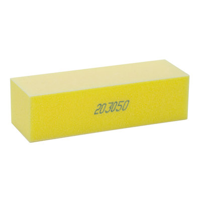 Star Nail International Softie Yellow Sanding Block 220 Grit