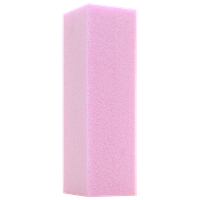 Star Nail International Softie Pink Sanding Block 100/180 Grit