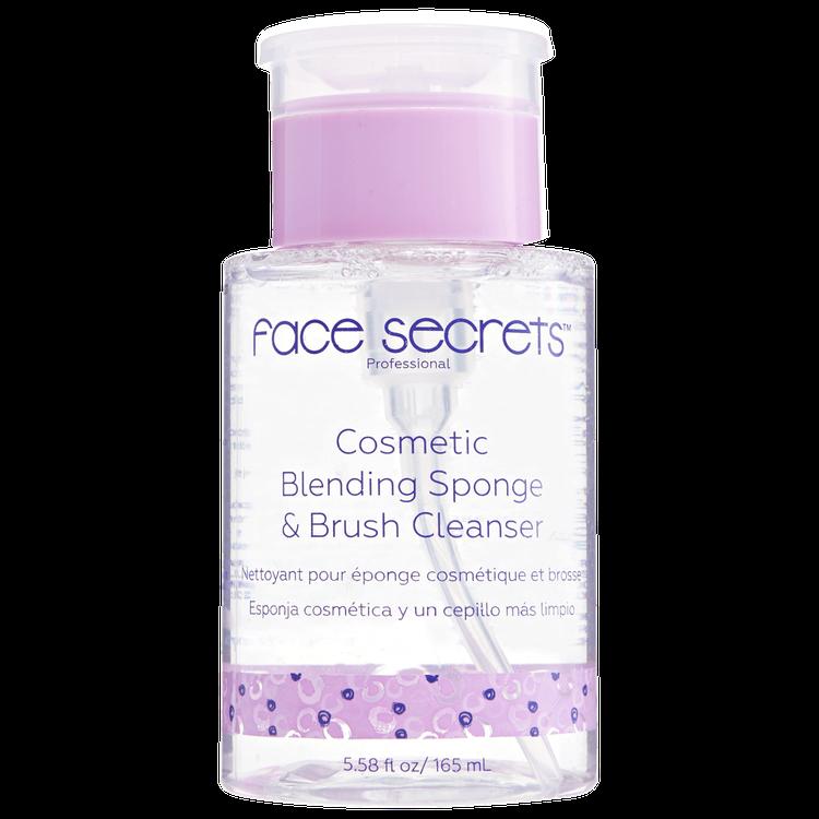 Face Secrets Blending Sponge & Brush Cleanser