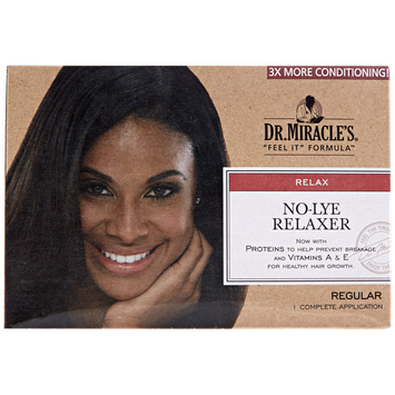 Dr. Miracle's Thermalceutical Intensive No-Lye Relaxer, Regular