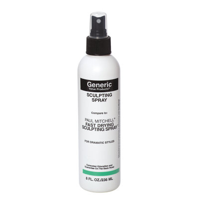 Generic Value Products GVP Sculpting Spray: Compare to Paul Mitchell Fast Drying Sculpting Spray