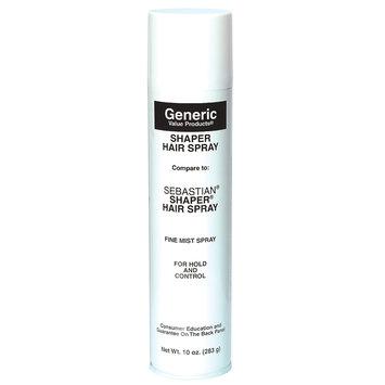 Generic Value Products GVP Shaper Spray: Compare to Sebastian Shaper Hair Spray