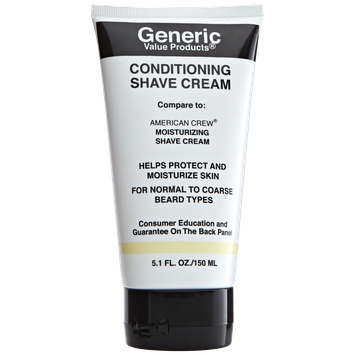 Generic Value Products Conditioning Shave Cream Compare to American Crew Moisturizing Shave Cream