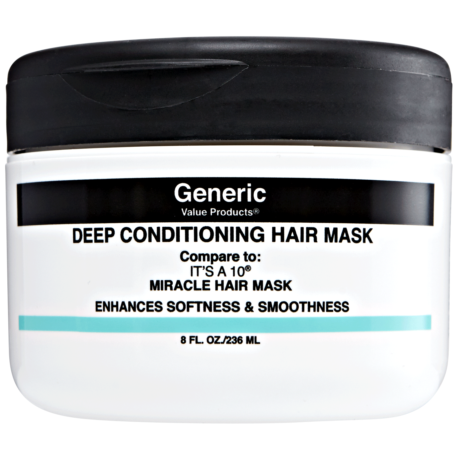 Generic Value Products Deep Conditioning Hair Mask Compare to It's a 10 Miracle Hair Mask