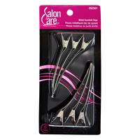 Salon Care Metal Duckbill Clips