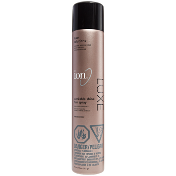 Ion Luxe Workable Shine Hair Spray
