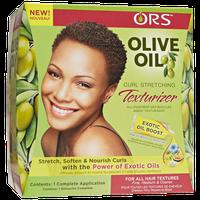 Organic Root Stimulator Olive Oil Curl Stretching Texturizer Kit