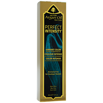 One 'n Only Perfect Intensity Neon Blue Semi Permanent Hair Color