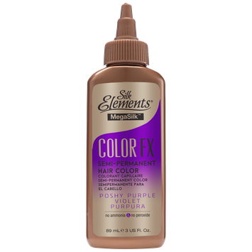 Silk Elements Color FX Semi-Permanent Hair Color Poshy Purple