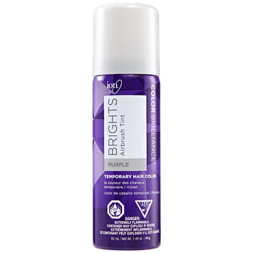 Ion Brights Airbrush Tint Purple Temporary Hair Color