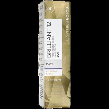 Ion 4VV Plum Permanent Gloss Hair Color