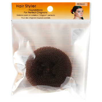 Fusion Group International Hair Stylers Brown Petite Chignon