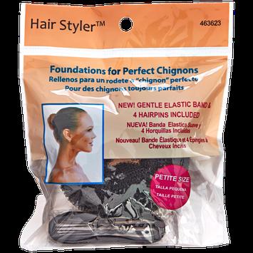 Fusion Group International Hair Stylers Black Petite Chignon