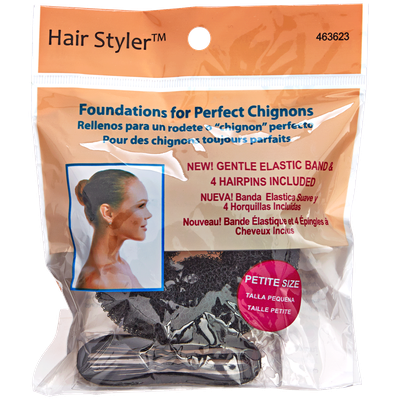 Fusion Group International Hair Stylers Black Petite Chignon