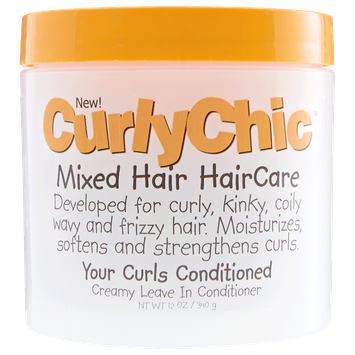 Curly Chic Your Curls Conditioned Creamy Leave In Conditioner