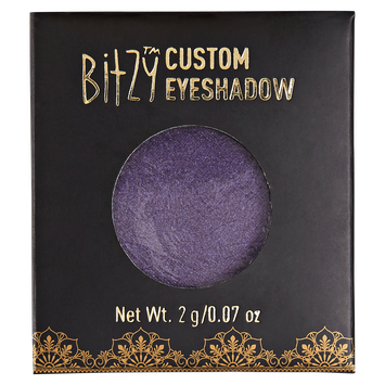 Bitzy Custom Compact Eye Shadows Punky Purple