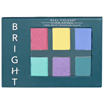 Real Colors Everlasting Eye Shadow Palette Bright