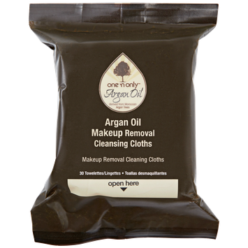 One 'n Only Argan Oil Makeup Removing Wipes