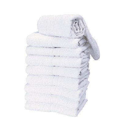 Salon Care White Premium Salon Towels 9 Pack