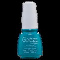 China Glaze Gelaze Turned Up Turquoise