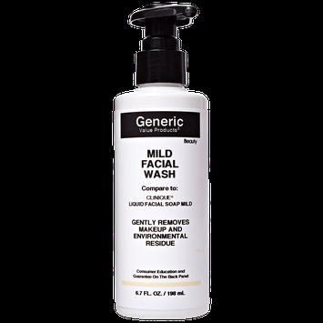 Generic Value Products Mild Facial Wash Compare to Clinique Liquid Facial Soap Mild