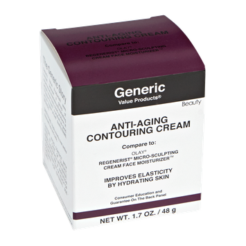 Generic Value Products Anti-Aging Contouring Cream Compare to Olay Regenerist Micro-Sculpting Cream Face Moisturizer