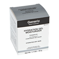Generic Value Products Advanced Hydration Gel Moisturizer Compare to Neutrogena Hydro Boost Gel Cream