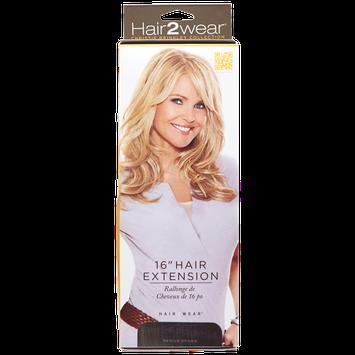 Hair2wear Christie Brinkley Collection 16 Inch Clip-In Hair Extension in Medium Brown