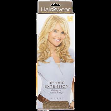 Hair2wear Christie Brinkley Collection 16 Inch Clip-In Hair Extension in Dark Blonde