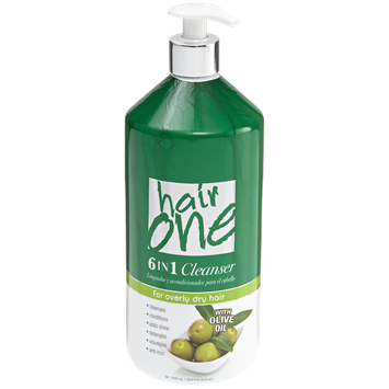 Hair One 6 in 1 Olive Oil Cleansing Conditioner 33.8 fl oz