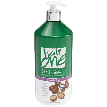 Hair One 6 in 1 Argan Oil Cleansing Conditioner 33.8 fl oz