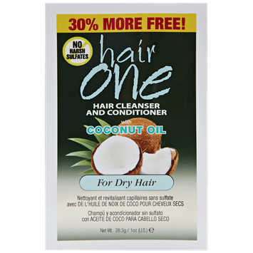 Hair One Coconut Oil Cleansing Conditioner Packette