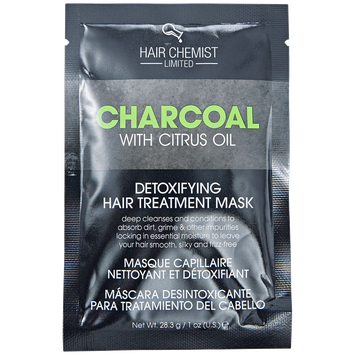 Hair Chemist Charcoal Detoxifying Masque with Citrus Oil Packet