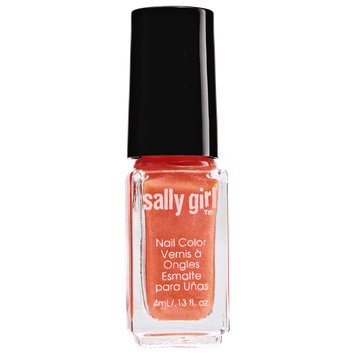 Sally Girl Orange U Glad Neon Nail Enamel