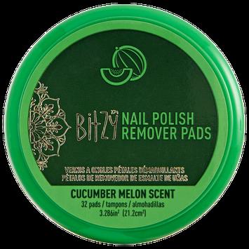 Bitzy Scented Cucumber Nail Polish Remover Petals