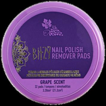 Bitzy Scented Grape Nail Polish Remover Petals
