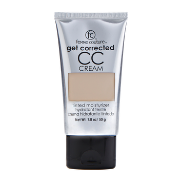 Femme Couture Get Corrected CC Tinted Moisturizer Natural Buff