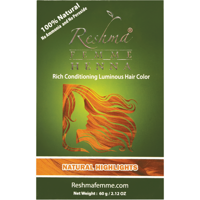 Henna Reshma Femme Natural Highlights, 2.12 oz