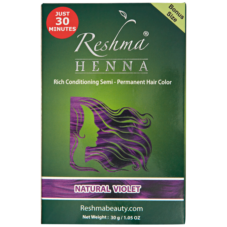 Reshma Beauty Natural Violet Semi Permanent Hair Color