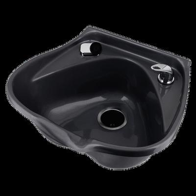 Marble Products #30 Fiberglass Shampoo Bowl Black